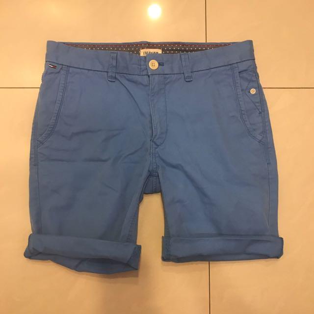(史上最便宜)Tommy Hilfiger 藍色短褲