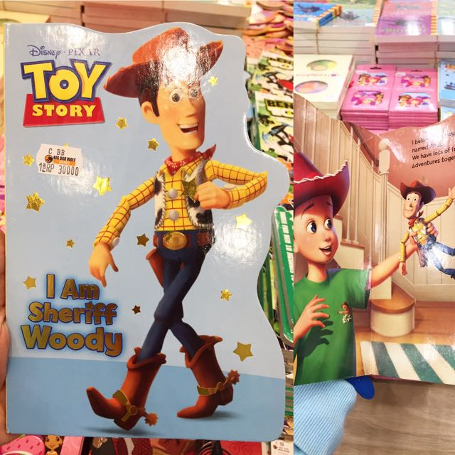 Toys Story Woody Board Book