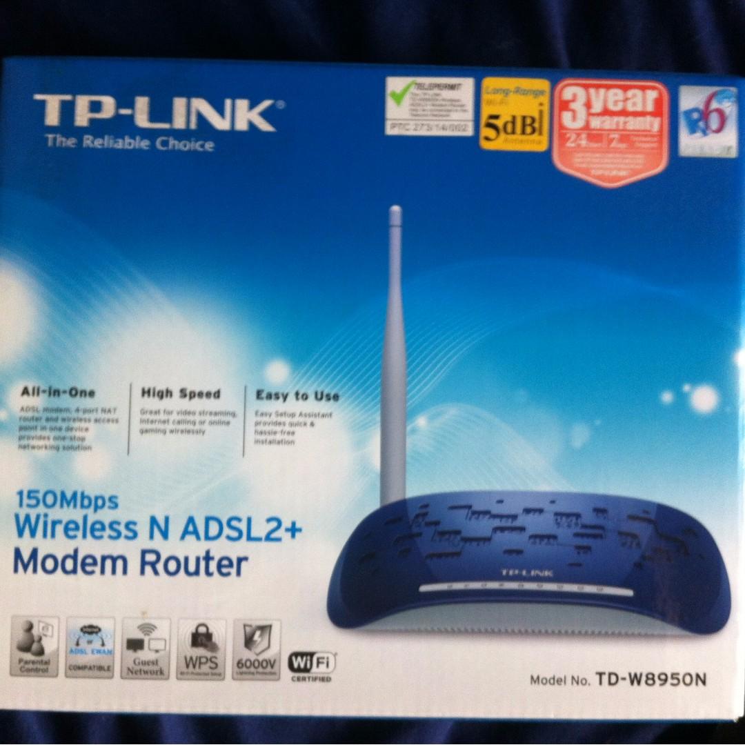 tp link modem