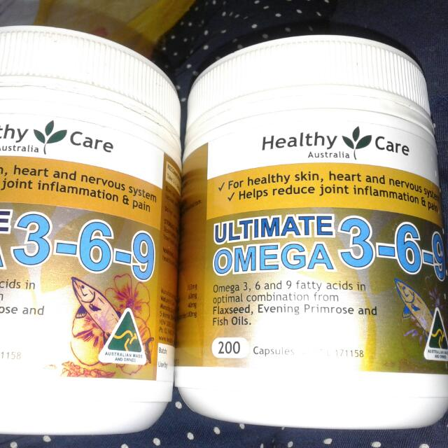 Ultimate Omega 3-6-9 .. Authentic