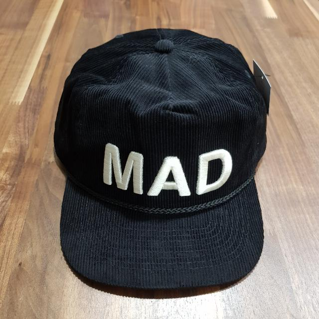 Undercover Madstore MAD Corduroy Cap Limited Black f856c51201af