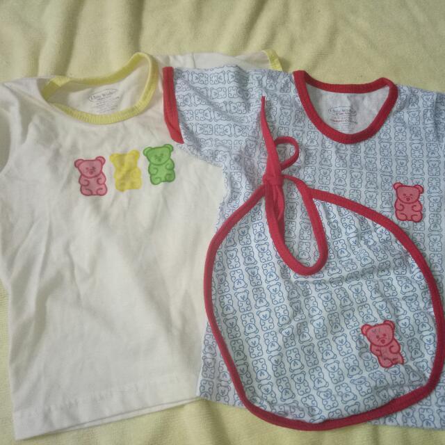 unisex shirts and bib