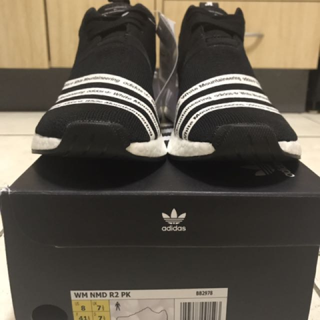 US8 NMD R2 X WHITE MOUNTAINEERING BLACK