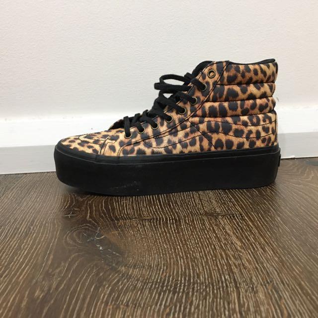 Vans - Leopard Print