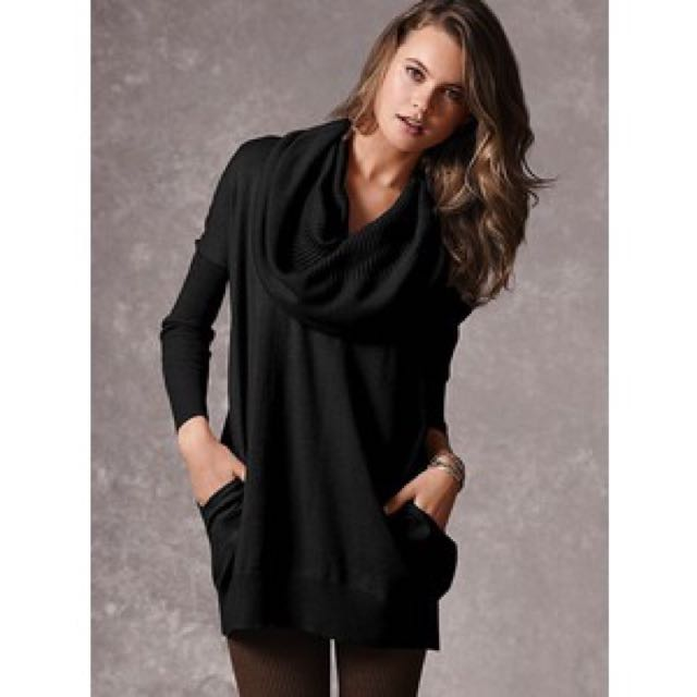 Victoria's Secret Black Multiway Sweater