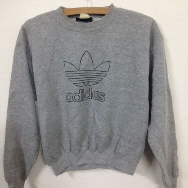 72cfabde9 Vintage Adidas Made In USA 90s Sweatshirt, Men's Fashion, Clothes on ...