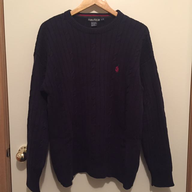 Vintage Nautica Jumper Sweater Knit