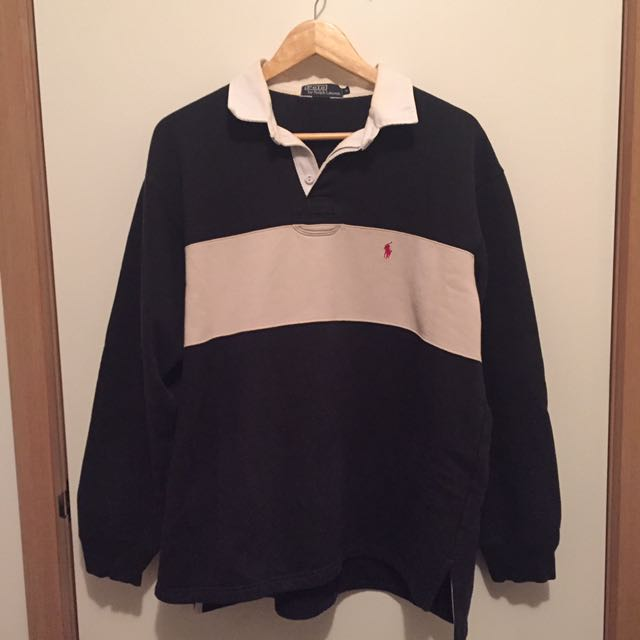 Vintage Ralph Lauren Polo Rugby Jumper Sweater