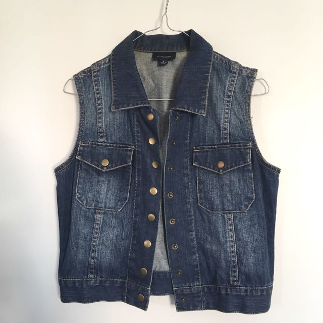 WITCHERY Denim Vest