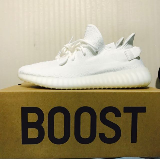 Yeezy boost 350 V2 Us 9.5 cream white adidas original