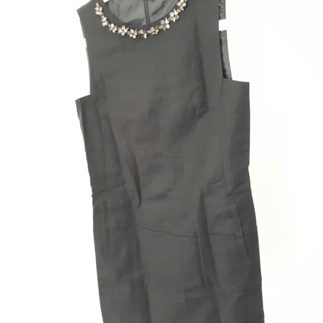 Zara Black Dress Size S