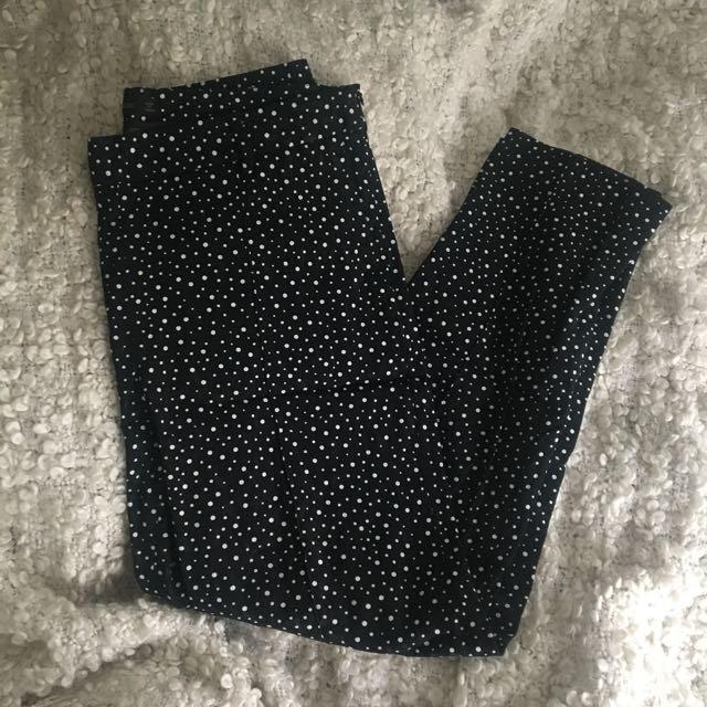 Zara Cigarette Trousers