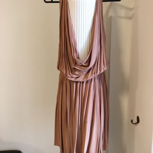 Zimmermann Poppy Cowl Neck Dress