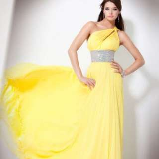 Jovani Yellow Prom Dress