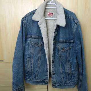 Warm Vintage denim Jacket