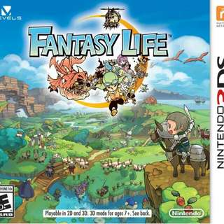 3DS Fantasy Life (Reserved)