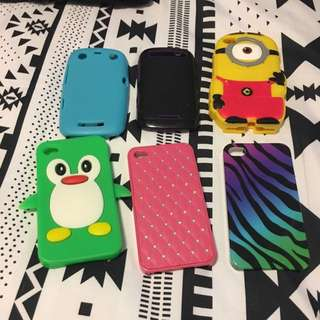 Various iPhone/Blackberry Cases