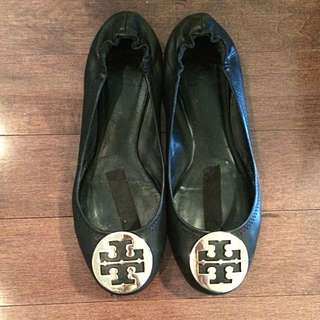 TORY BURCH Reva Black Flats