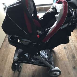 Graco Stroller & Car Seat (Click Connect Travel System)