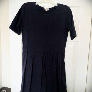 Gap Navy A-line Dress