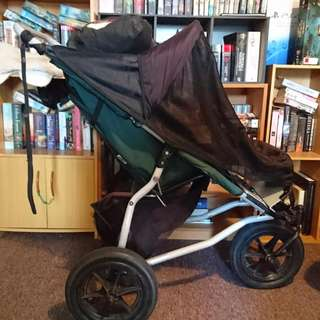 Mountain Buggy Stroller With Stormcover And Sunshade. #thecafe