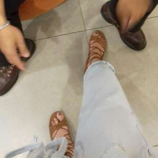 Brash Lace Up Flat Shoes