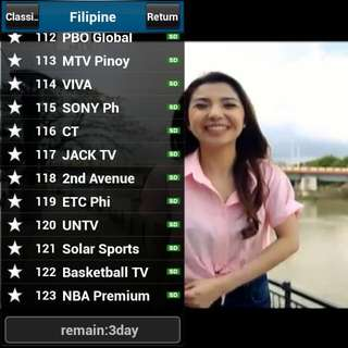Pinoy Filipino LIVE Channels IPTV Premium Subscription for Android TV box/HP/tablet