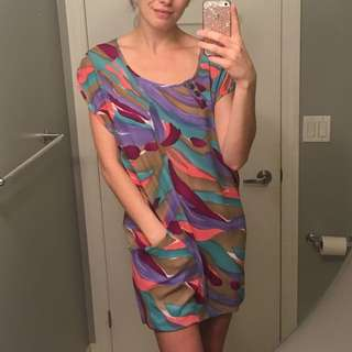 Neon AUS Sz10 Slinky Dress