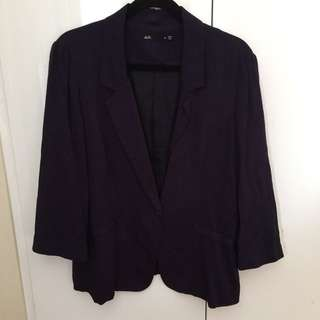 Dotti Deep Purple Blazer