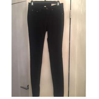 Rag & Bone Black Skinnies - Size 26
