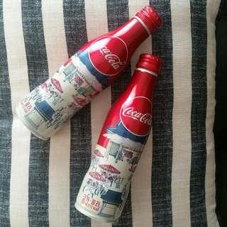 Limited Coca-Cola Korea VINTAGE Aluminium Bottle