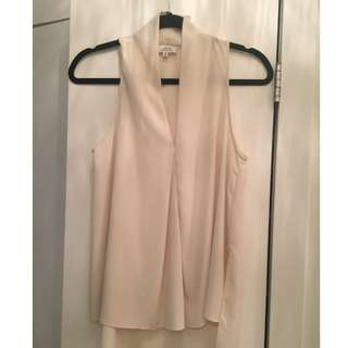 Wilfred blouse (vanilla colour) - Aritzia - Size XS