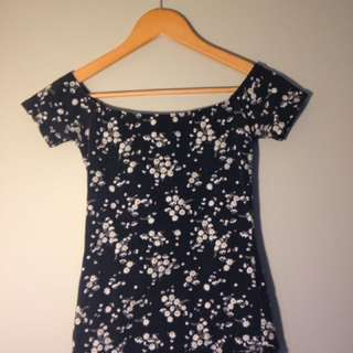 Floral Ballerina Styled Top