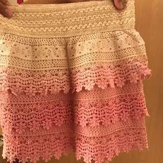 Bench Weaved skirt