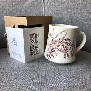 🚚 全新 臺華窯製造 陶瓷杯 紅色 #局家生活好物