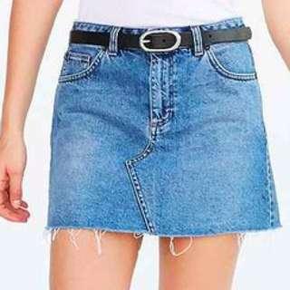 Urban Outfitters BDG 5 Pocket Denim Skirt