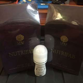 Nutrifab Buy1take1 Promo With Freebiz Natura White (lightning Deodorant)