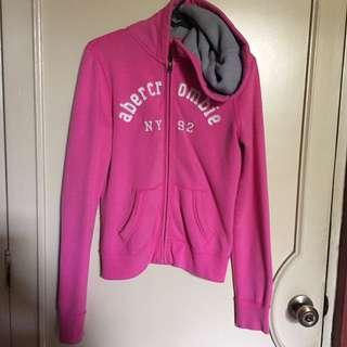 Abercrombie Pink Hoodie