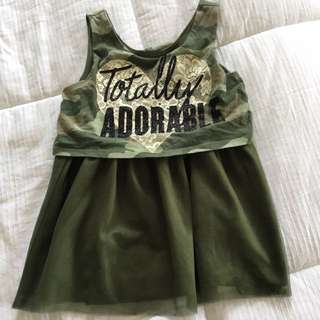 Justice Girls Tulle Top Size 8