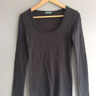 Kookai Woolen Long Sleeve Top