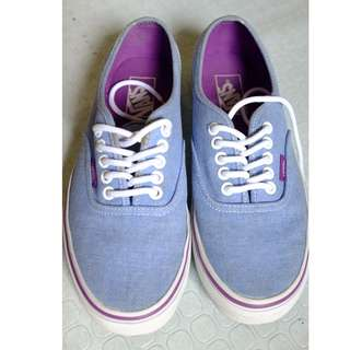 Vans Denim Kicks (8.5)