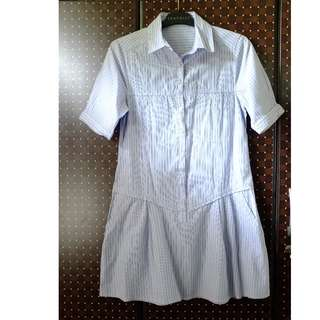 SALE! HUMAN Light Blue Polo Dress (S)