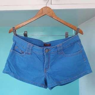 Hot Kiss Blue Jeans Short