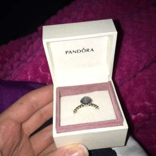 Pandora Ring - June Moonstone