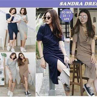 Sandra Dress (Brown Only)