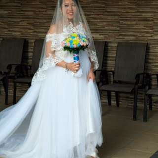 FOR RENT Wedding Gown