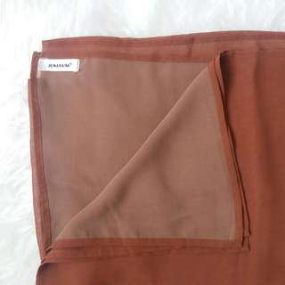 Two Tone Shawl Brand JENAHARA