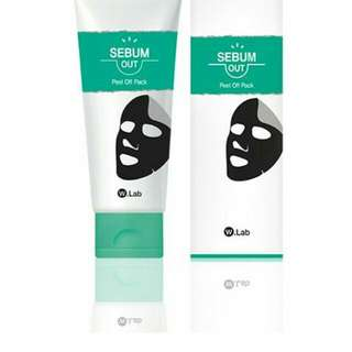W-Lab SEBUM - OUT Peel Off Pack 100 ml