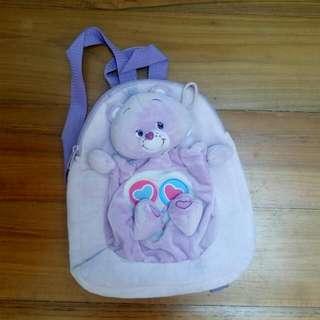Carebear Sharebear Backpack