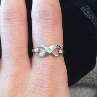 Infinity Diamond Ring